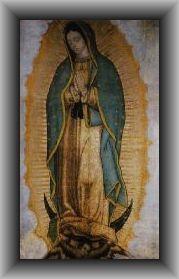 Guadalupe - Jungfrau von Gauadalupe, das Gnadenbild