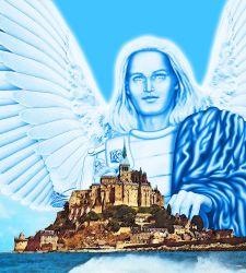 Erzengel Michael - Mont Saint Michel